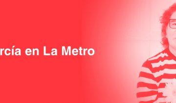Charly García en La Metro